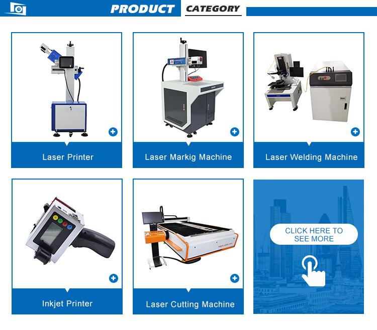 20w 자동 co2 레이저 프린터 병 바디 생산 날짜 만료 날짜 마킹