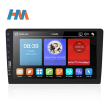 Auto Radio MP5 Player 2Din Spiegel Link <span class=keywords><strong>Bluetooth</strong></span> 9inchTouch Screen One <span class=keywords><strong>Din</strong></span> Multimedia Player MP5 Rückansicht Kamera funktion