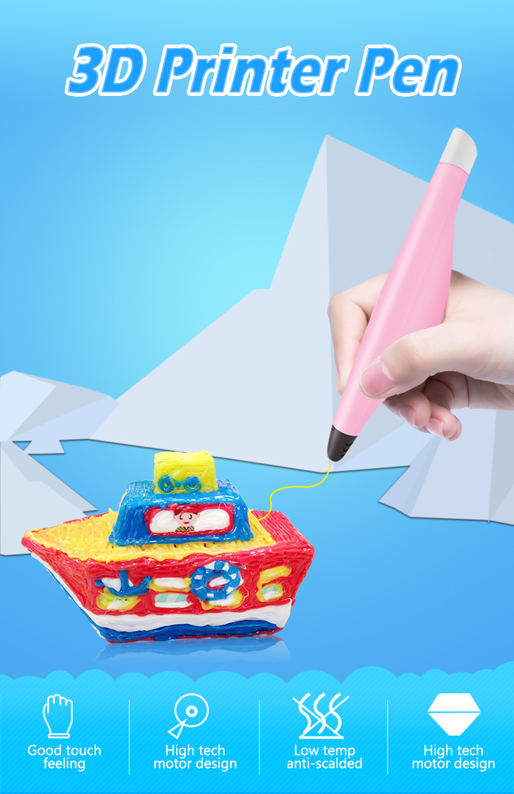 Modern arts and crafts 3d drawing pen newest innovative education tools for children