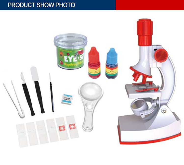 new design science education play set toys microscope for kids