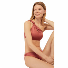 Luckpanther polyester recyclé <span class=keywords><strong>tissu</strong></span> maillot <span class=keywords><strong>de</strong></span> <span class=keywords><strong>bain</strong></span> deux pièces bikini orange maillot <span class=keywords><strong>de</strong></span> <span class=keywords><strong>bain</strong></span>