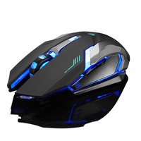 High Precision Wireless Gaming Mouse Programmable Mouse For PC Laptop Computer, 6D RGB Back lit Gaming Mouse OEM Price
