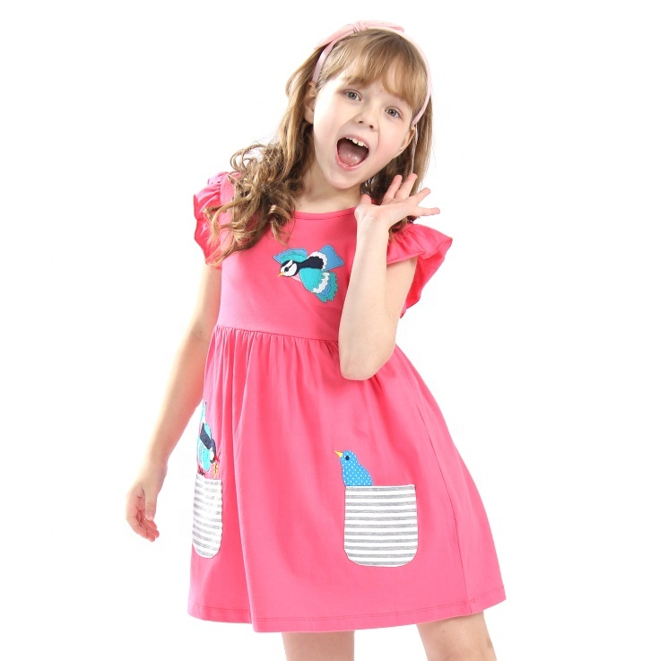 2020 Low Price <strong>Baby</strong> Girls' Casual Dresses Summer <strong>Baby</strong> Girl <strong>Cotton</strong> <strong>Frocks</strong> Dress