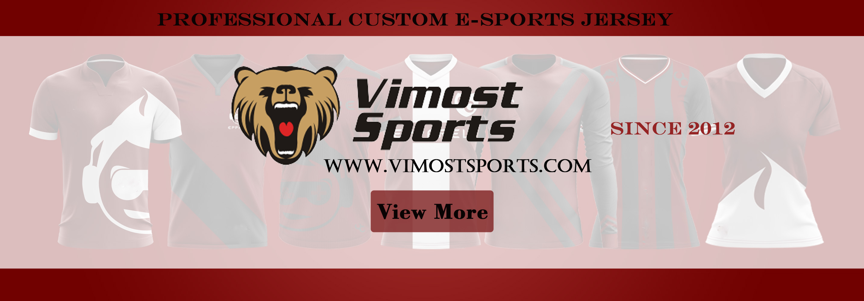 2020 Top quality custom sublimation esports jersey 5