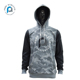 Pure customized fashionable long sleeve blank autumn camo printed oversized pullover hoodie