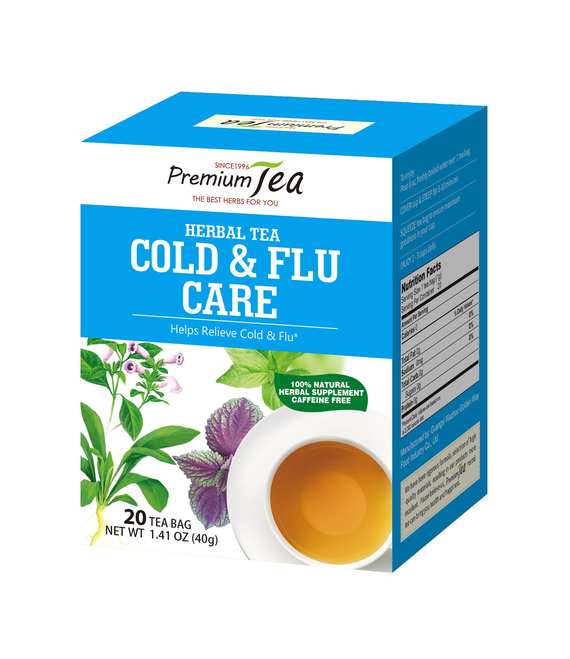 Herbal Cold & Flu Tea to Relieve coldness - 4uTea   4uTea.com