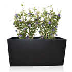 Metal Garden Flower Pots Metal Plant Pot Foshan Customized Wholesale Outdoor Large Metal Plant Garden Flower Pots