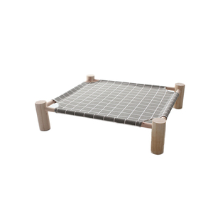 High quality pet supplies elevated washable wood orthopedic dog bed