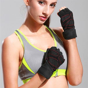 Wholesale Bicycle Half Finger Gloves Gym Sports Fitness Gloves