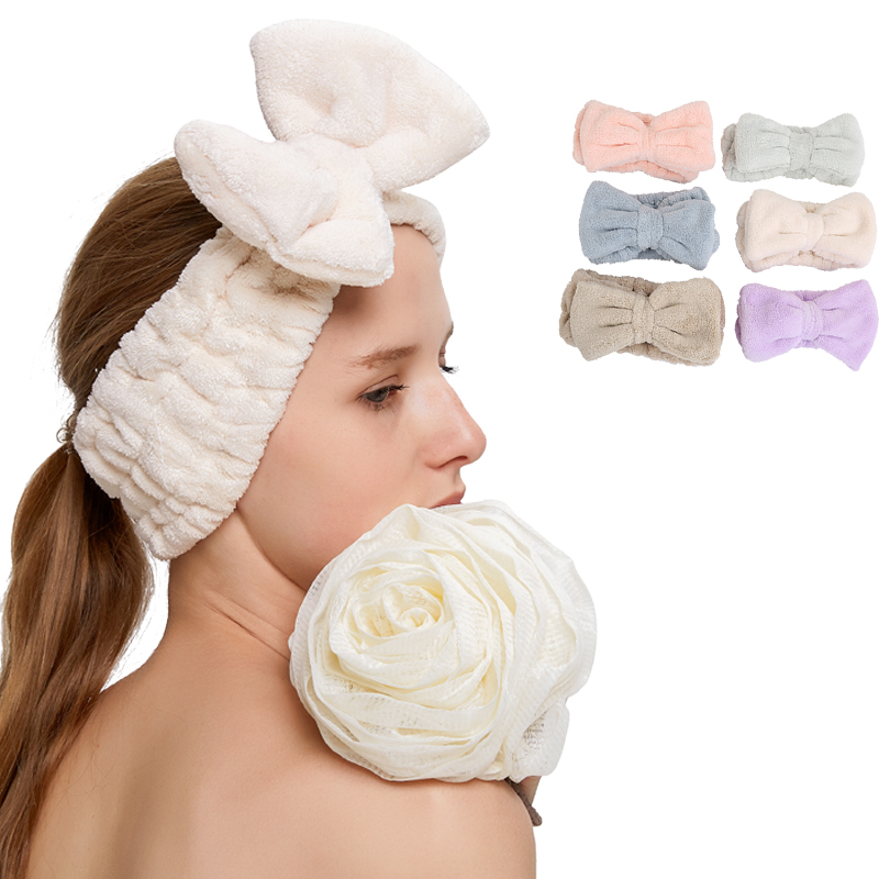 Promotional cotton elastic hair band, headband head band
