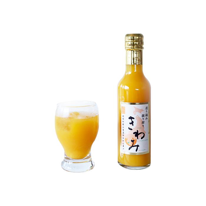 KIWAMI - 100% Unshiu Mikan Juice 200 ml *24bottles/Case *2Case
