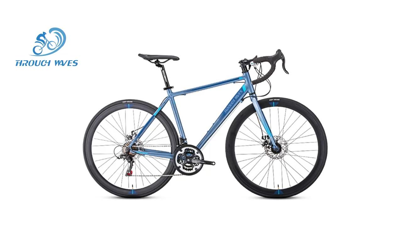טוב באיכות 700C גברים סגסוגת כביש אופני מירוץ אופניים עם בלמי דיסק
