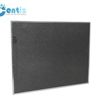 Activated carbon Panel Board Metal Mesh Air filter for Ventilation System
