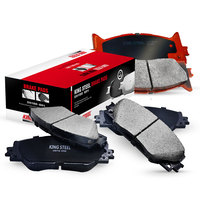 Kingsteel high quality wholesale auto car disc ceramic semi-metallic brake pad for japanese cars