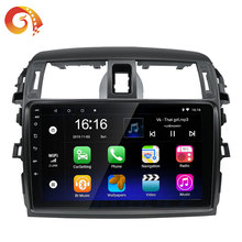 9 inç araba Video Dvd OYNATICI Dashboard radyo Stereo Android multimedya Toyota Corolla 2008 2009 2010 2011