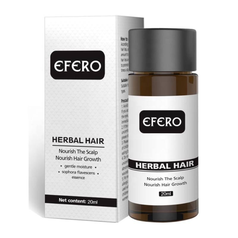 EFERO Fast Powerful Ginger Hair Growth Essence Oil Hair Loss Products for Hair Growth Serum Beard Growth Essential