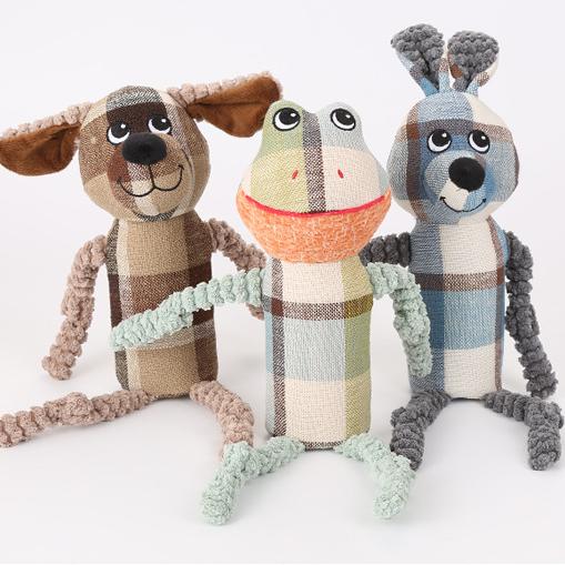 Amazon горячие продажи, животные собака мягкая игрушка забавная игрушка для собаки в форме животных жевать игрушки