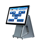 Wholesale The latest model 15 Inch Screen POS System/ pure flat touch screen cash register with MSR on hot sell