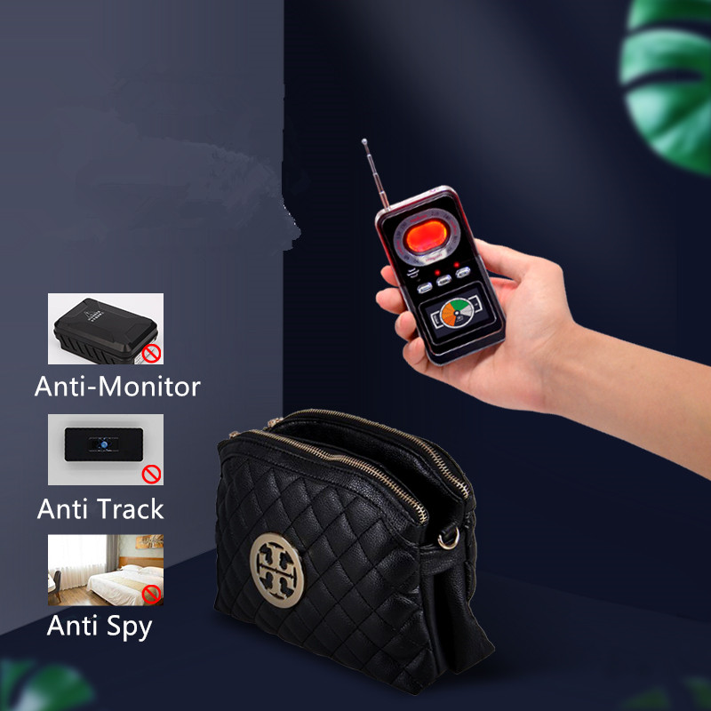 2020 Portable RF AI Signal Detector Motion Detection Alarm GPS Tracker Finder Hidden Camera Detector