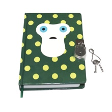 A5 Hardback Cover Eenhoorn Secret Diary Journal Notebook met <span class=keywords><strong>Slot</strong></span>/Custom Boek en Pen Set voor Meisje