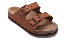 Birkenstock летние Аризона мягкие кожаные сандалии, женская обувь унисекс, Modis 802 женские домашние тапочки для улицы(Китай)