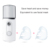 Water replenishment meter  charging nano sprayer handheld cold spray face steamer portable humidifier Facial steamer machine