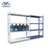 China Electrostatic Powder Coating Knock Down Steel Book Shelf Warehouse Metal Collapsible 4 Tier Cart Kraftwelle Tool Trolley