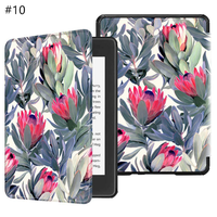 Ultra-thin Shell For Kindle Oasis 2 Case Flip Case Cover for Kindle Oasis 2 Colorful Painting TPU Shell For Amazon Kindle
