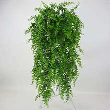 73 см имитация папоротника трава зеленое растение искусственный папоротник персидские листья цветок настенные Висячие растения Украшение ...(Китай)
