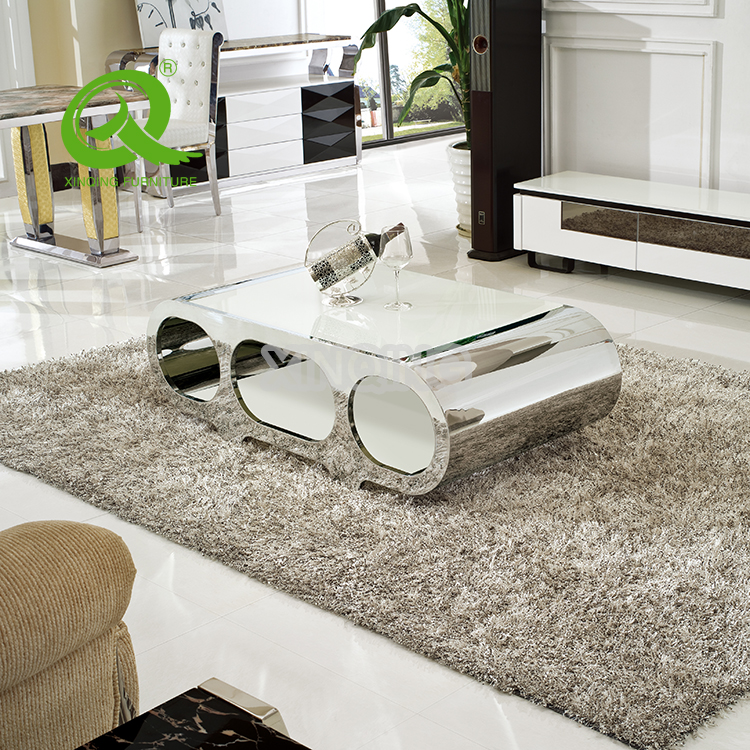 Living Room Furniture Tempered Glass Top Modern Design New Tea