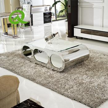 Living Room Furniture Tempered Gl Top Modern Design New Tea Table Italian Site Center