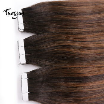 Hot Sale Soft Stick On Hair Extension Double Drawn Human Remy Tape Hair