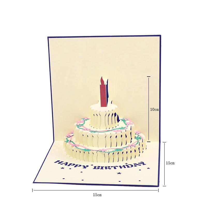 киригами открытка торт схема как сделать вообщем
