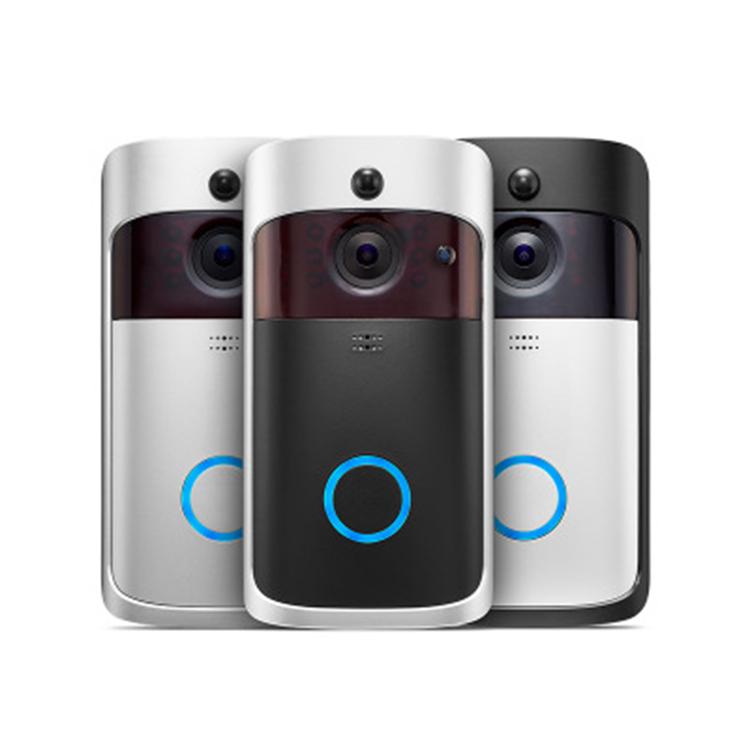 2020 高品質ビデオインターホンドアベルスマート警報誘導ワイヤレスドアベル無線 lan リモートホームドアベルカメラ