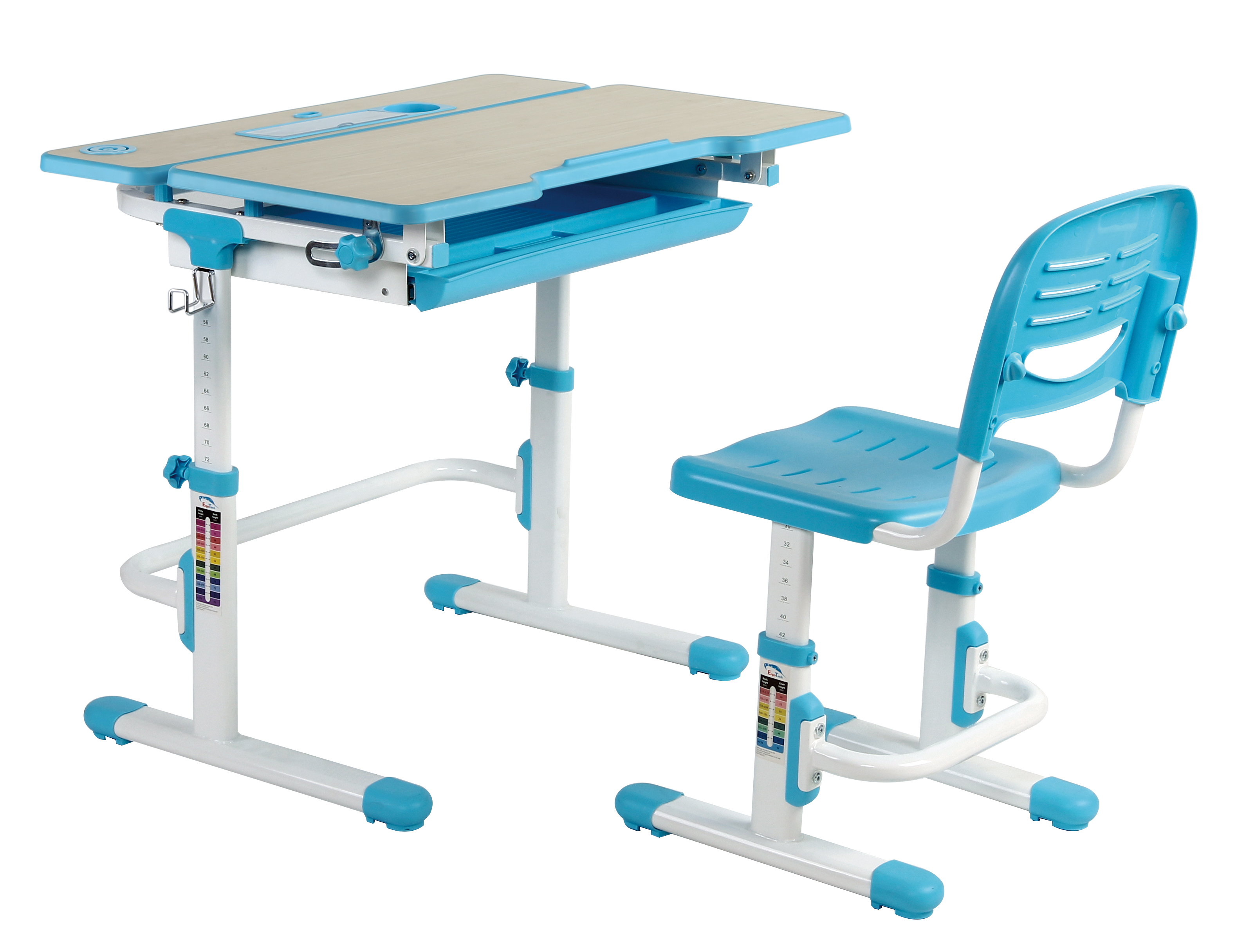 Image of: Adjustable Children S Desk Chair Set Kids Study Table Child Study Desk Buy Laptop Desk Study Table Ergonomic Kids Study Table And Desk Long Study Computer Table Desk Product On Alibaba Com