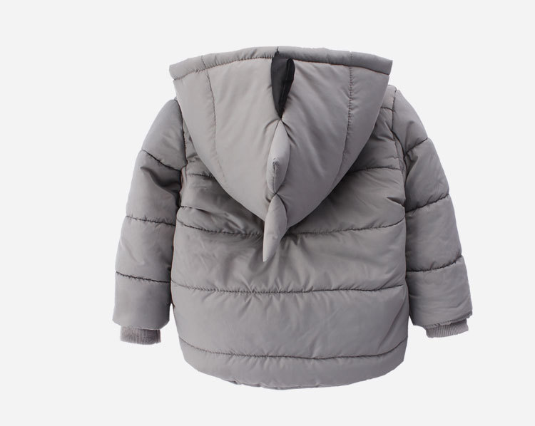 Winter cotton boy dinosaur warm new cute and comfortable jacket for children