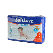 Softlove fashion super absorbent layer comfortable baby diaper in sleep for new born baby