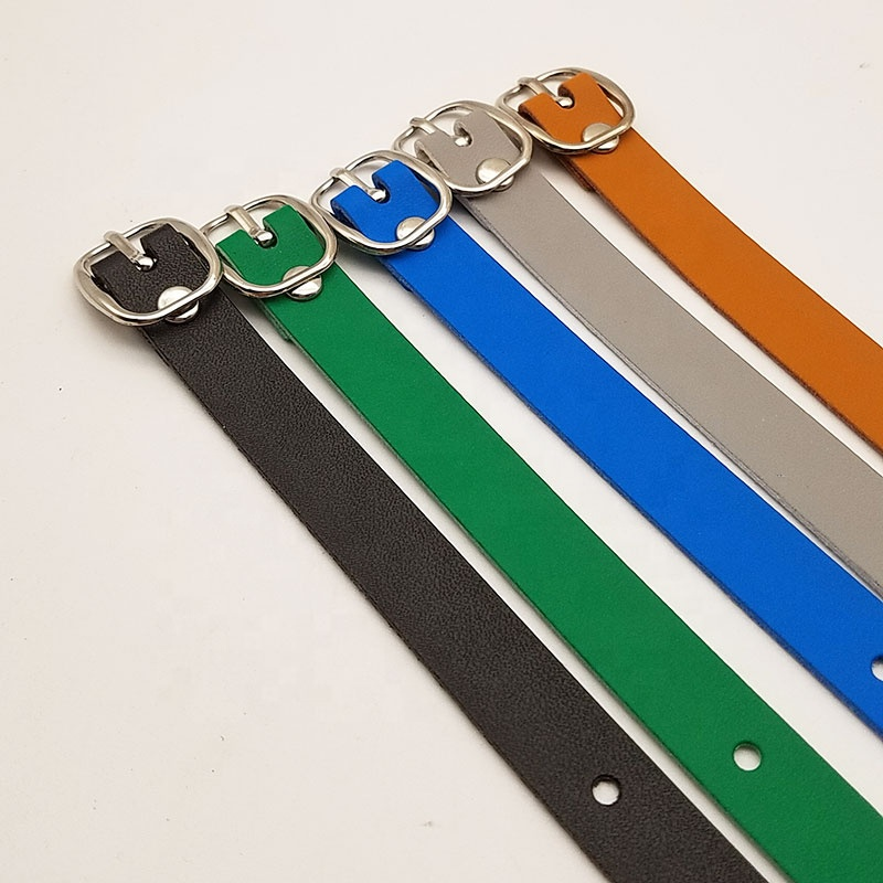 Wholesale 85cm size  multicolor choice handle golf tag luggage PU leather straps