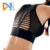 mesh breathable gym bra shockproof running brassiere quick dry yoga wear top padded full cup sports bras for women fitness