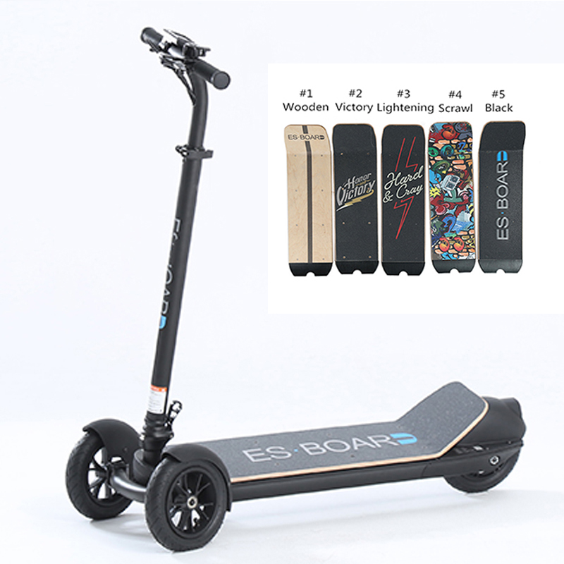 500w Powerful Three Wheel Golf Board Electric Scooter With Chart Bag Holder