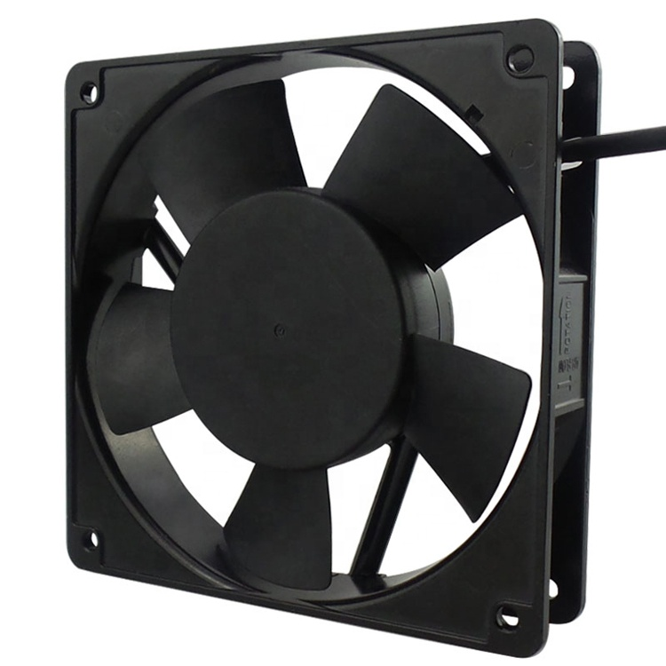 5 inch exhaust 120x120x25mm metal frame 1225 waterproof cooler slient 120mm ac 220v 12025 ac axial fans