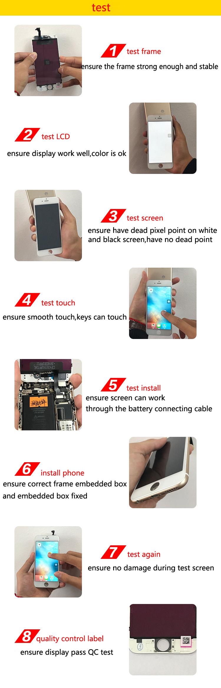 Shenzhen Best Price Spare Parts TFT LCD Touch Screen Display For Samsung J7 Cell Phone Screen LCD