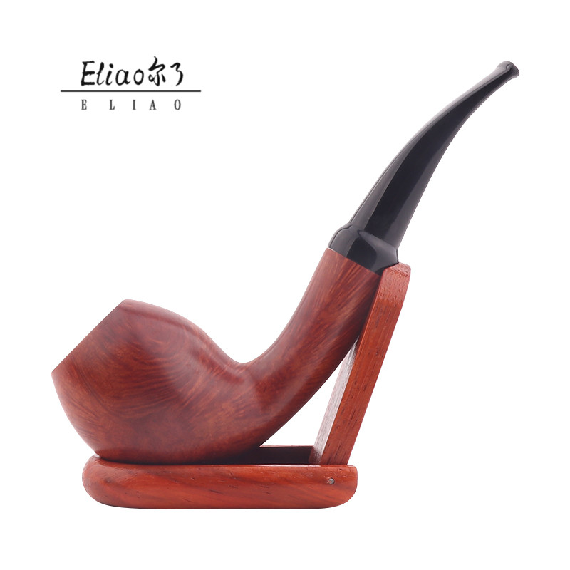 Erliao Crazy Sale China Briar High Quality Smoking Pipe For Men's Gift