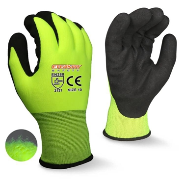 13g nylon with foam nitrile coating glove manufacturer
