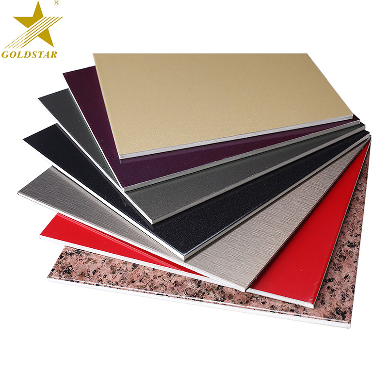 Top Sale Antibacterial Coating Sandwich Interior Aluminum Decorative Wall 3 Mm Panel