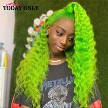 На сегодняшний день только 13x4 Синтетические волосы на кружеве парик бразильский парик из бразильских курчавых, эффектом деграде (переход о...(Китай)