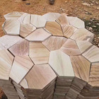 Stone Sandstone in Pattern Shape and Various Size Used in Road Paving