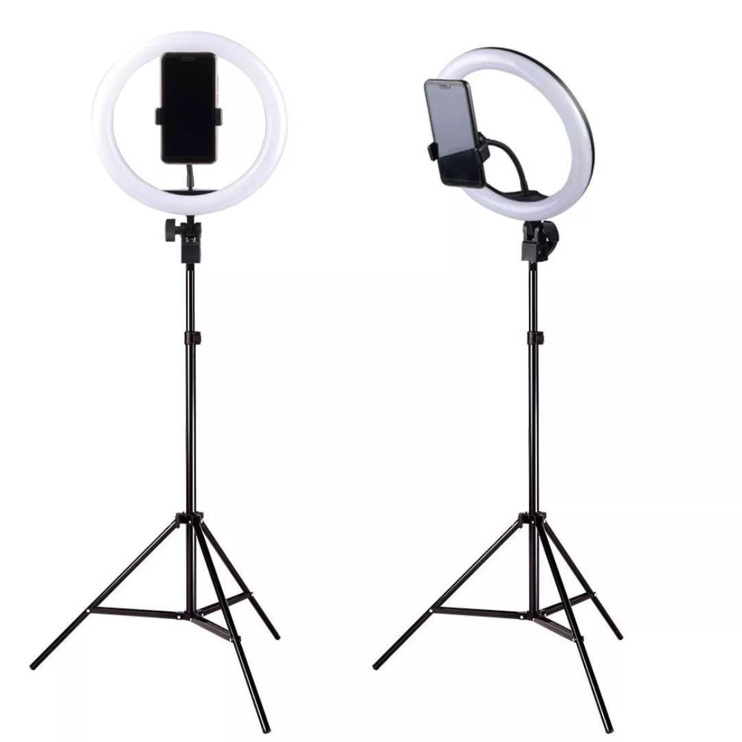 6 8 10 12 14 18 inch Ring Light Tripod Stand Photographic Light Ring Selfie LED Ring Light