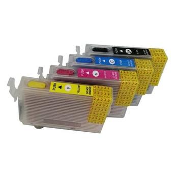 T1621 T1631 refillable ink cartridge for Epson  WF-2010W/WF-2510WF/WF-2520NF/WF-2530DW/ WF-2540WF/WF