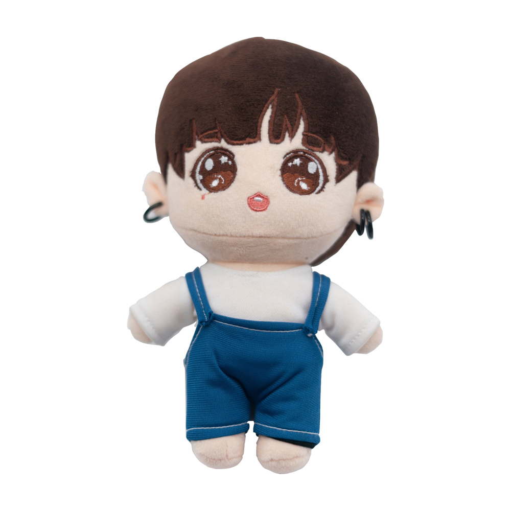 Factory Price hot selling hip crowd 20cm Idol Plush Toys Soft plush stuffy toys clothes for <strong>dolls</strong> new christmas gift